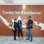 Penyerahan sertifikat pelatihan ke Angkasa Pura I